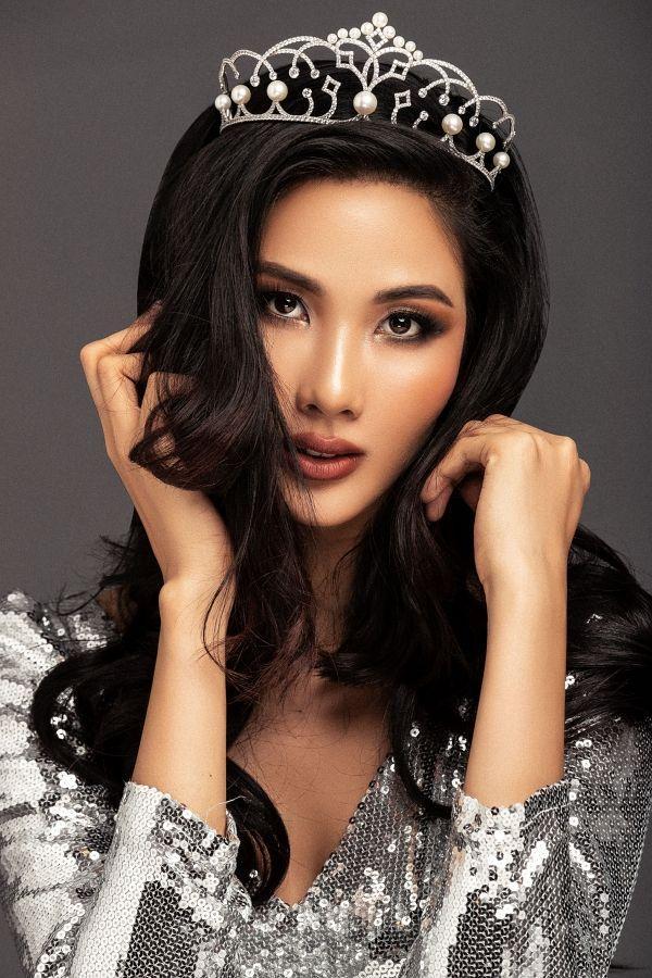 Hoàng Thùy tăng cân thi Hoa hậu Hoàn vũ 2019 có ảnh hưởng đến kết quả in top?-1
