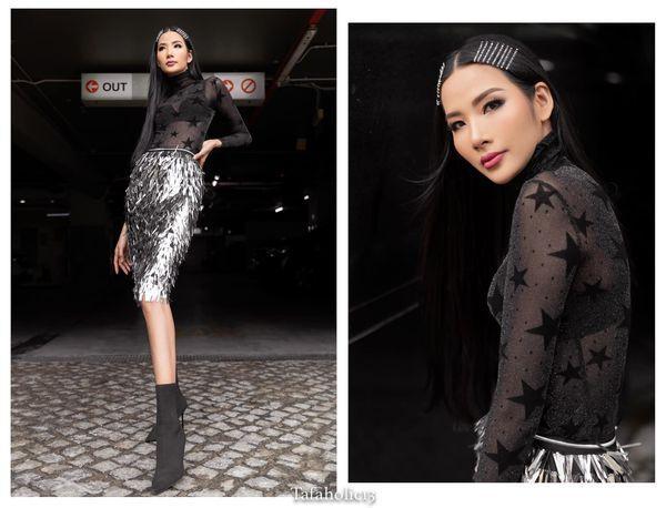 Hoàng Thùy tăng cân thi Hoa hậu Hoàn vũ 2019 có ảnh hưởng đến kết quả in top?-5