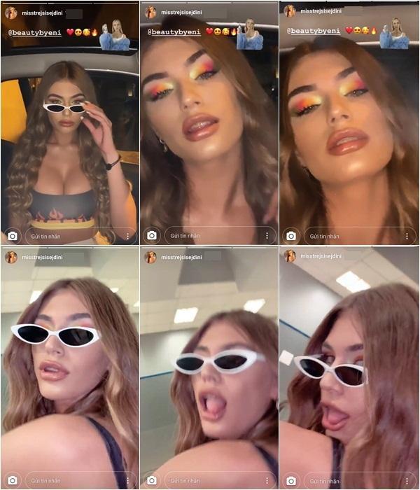 Quả bom sex sinh năm 2000 ngang nhiên livestream hút thuốc bất chấp hình tượng hoa hậu-5
