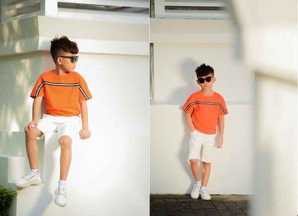Ngắm vẻ đẹp trai cool ngầu của mẫu nhí Minh Lâm-3