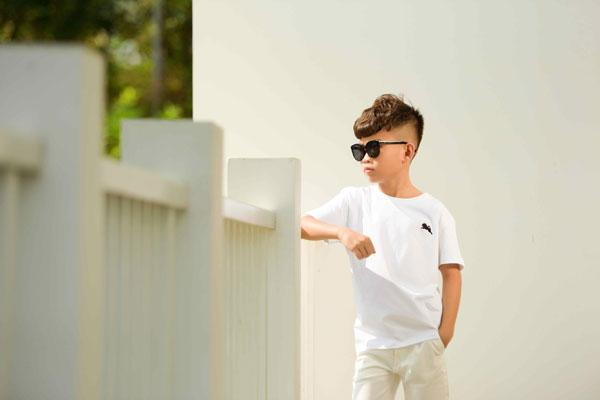 Ngắm vẻ đẹp trai cool ngầu của mẫu nhí Minh Lâm-4