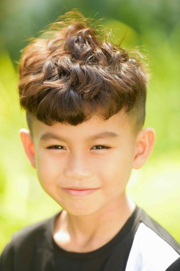 Ngắm vẻ đẹp trai cool ngầu của mẫu nhí Minh Lâm-6