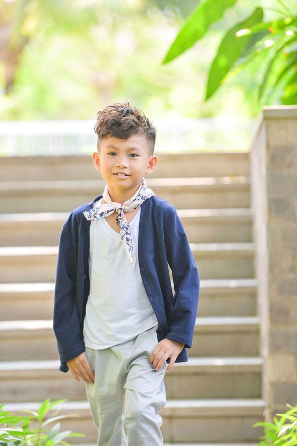 Ngắm vẻ đẹp trai cool ngầu của mẫu nhí Minh Lâm-7