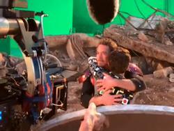 Video hậu trường người nhện Peter Parker gặp lại Iron Man
