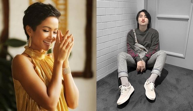 Phản ứng tẩm ngẩm tầm ngầm đích thực fangirl của HHen Niê khi thấy Sơn Tùng được khen đẹp trai, vừa trắng lại vừa giàu-1