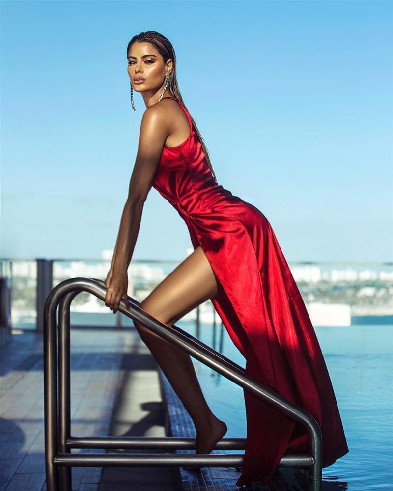 Bản tin Hoa hậu Hoàn vũ 13/5: Chưa xuất trận nhưng Hoàng Thùy đã bị đối thủ Colombia đe dọa... cho ngửi khói-10