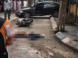 Hà Nội: Lộ nguyên nhân vụ nữ tài xế Camry lùi xe cán chết người