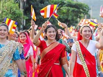 Bà Phạm Thị Yến 'tái xuất' ở chùa Ba Vàng tham dự Lễ hội Phật đản