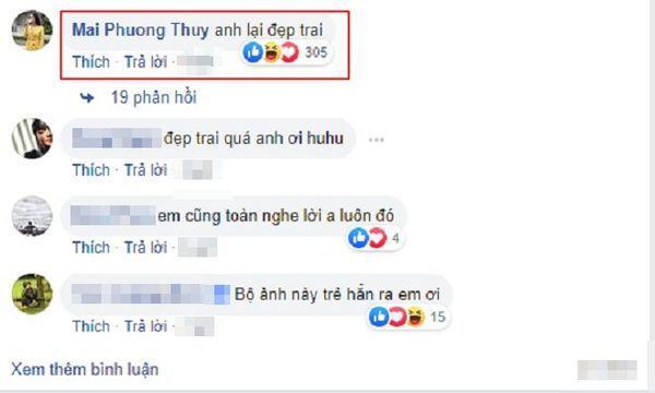 Noo Phước Thịnh đăng ảnh 'soái ca', Mai Phương Thúy tích cực vào… 'thả thính' ngay-3