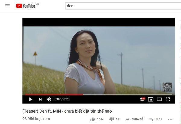 Đỉnh cao lầy lội của Min và Đen Vâu: Ra teaser nhạc mới nhưng tên ca khúc cực... hack não-1