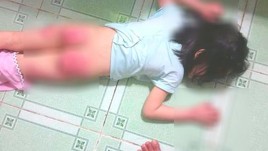 Xót xa người mẹ cầu cứu vì con gái 6 tuổi bị cha ruột hành hạ dã man-1