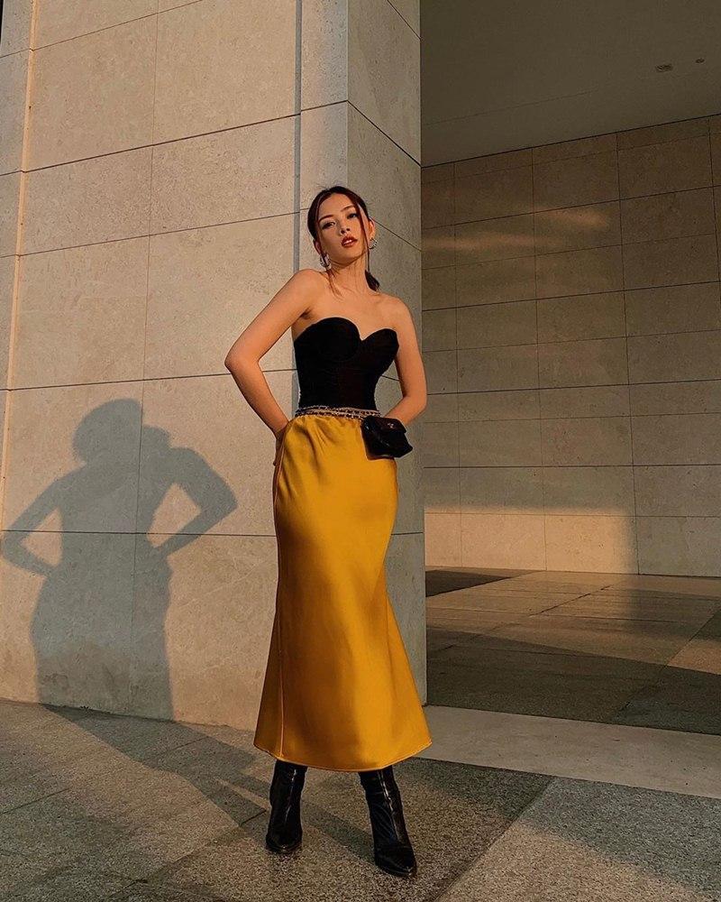 STREET STYLE giới trẻ: Chi Pu - Quỳnh Anh Shyn siết eo nhỏ đến ngỡ ngàng với mốt áo corset-3