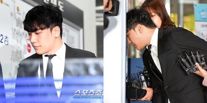 Seungri bị trói và còng tay khi rời tòa án, có thể ở tù 2 - 3 năm-9