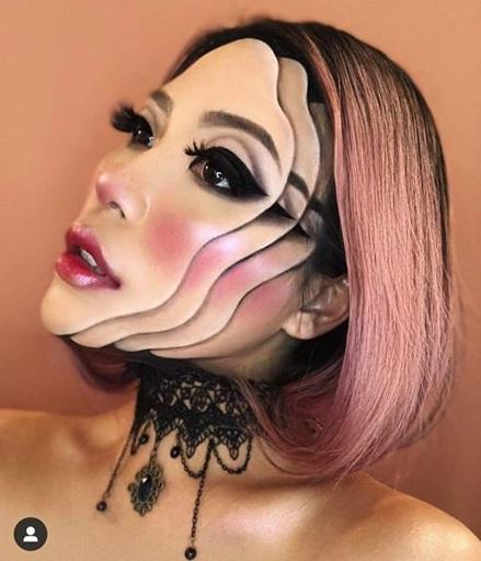 Chủ nhân màn hóa trang ảo giác của Ezra Miller tại Met Gala sở hữu hàng nghìn tác phẩm trang điểm đẹp đến rùng rợn-14