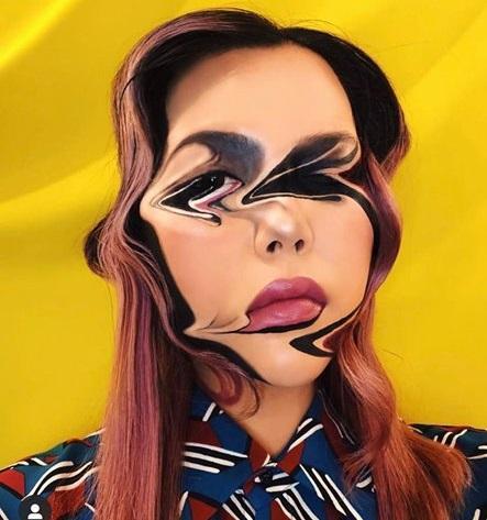 Chủ nhân màn hóa trang ảo giác của Ezra Miller tại Met Gala sở hữu hàng nghìn tác phẩm trang điểm đẹp đến rùng rợn-5