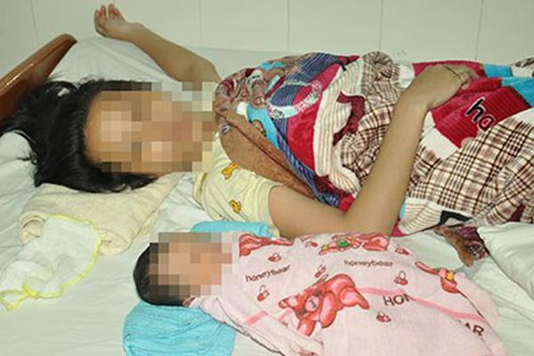 Bé gái 10 tuổi phải đến BV Phụ sản TƯ để sinh con-1