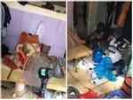 Clip đỉnh cao ở bẩn của nam sinh Hà Nội: Phòng ngập rác bốc mùi ai vào cũng phải bịt mũi, choáng váng nhất là nhà vệ sinh-1