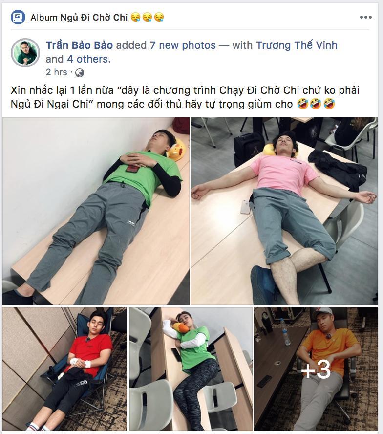 Thánh chơi dơ BB Trần vừa dìm hàng dáng ngủ của Trấn Thành, Jun Phạm và dàn cast Running Man là lập tức bị phản đòn-1