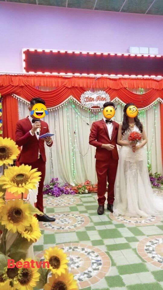Cô dâu bỗng bị ra rìa ngay trong ngày cưới vì chú rể mặc đồ đôi với MC-1