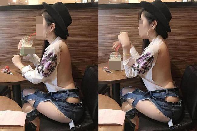 Bức ảnh bàn tán nhất sáng nay: Gái xinh Hà Nội gây sốc khi đi tung tăng khắp siêu thị trong bộ dạng trên có áo, dưới để không-4