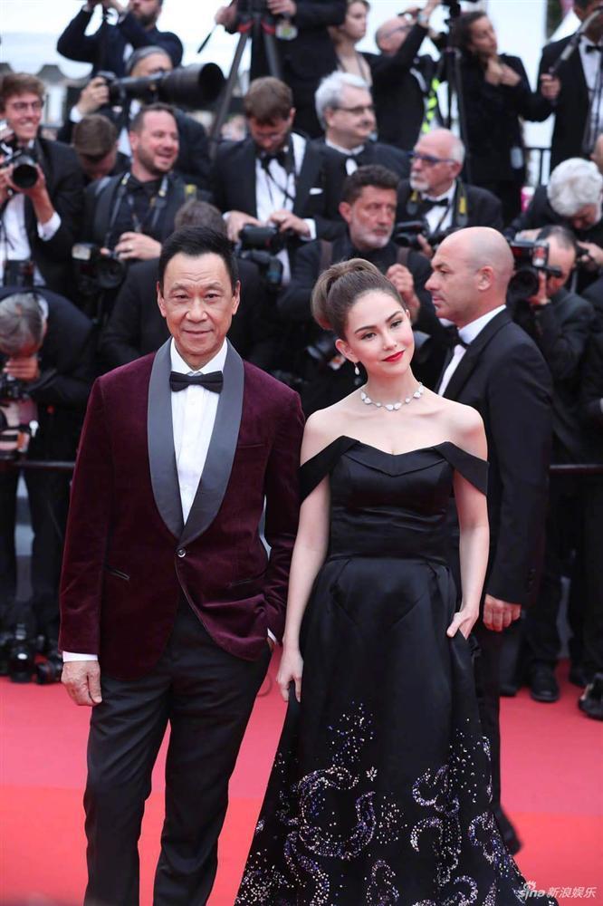 Yêu vợ say đắm như Châu Kiệt Luân: Đứng lặng trong đám đông ngắm Côn Lăng trên thảm đỏ Cannes-6