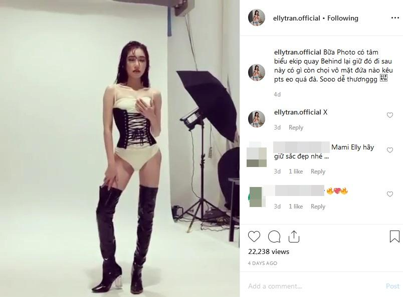 Elly Trần tung bằng chứng chọi vô mặt những người dám tố mình photoshop quá đà-2
