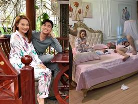 Kết phim 'Về Nhà Đi Con': Bảo Thanh sinh con cho Quốc Trường chỉ sau 1 đêm ân ái vội