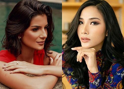 Bản tin Hoa hậu Hoàn vũ 15/5: Nhà báo Brazil quá xinh đẹp đe dọa khả năng intop của Hoàng Thùy-3