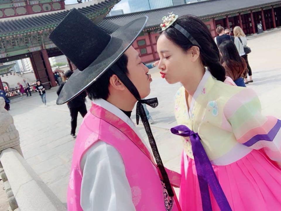 Trường Giang - Nhã Phương diện đồng phục học sinh hóa cặp đôi tình thơ đầy mộng mơ-3