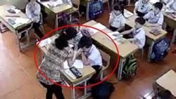 Phụ huynh giận 'sôi máu' trước clip cô giáo tát tới tấp, dùng thước đánh nhiều học sinh lớp 2 trong phòng thi