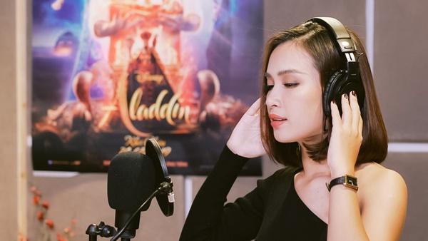 Ái Phương lồng tiếng cho công chúa Jasmine trong bộ phim Aladdin-2