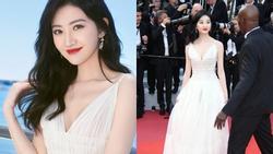 'Đệ nhất mỹ nữ Bắc Kinh' ngượng chín mặt khi bị đuổi khỏi thảm đỏ LHP Cannes 2019