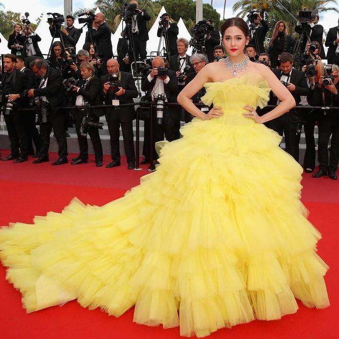 Mỹ nhân châu Á đẹp nhất thảm đỏ LHP Cannes: Nhan sắc thiên thần, body bốc lửa, lấy chồng giàu sang-3