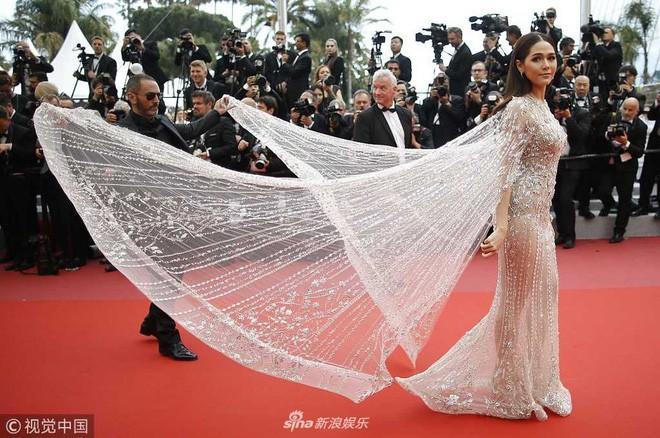 Mỹ nhân châu Á đẹp nhất thảm đỏ LHP Cannes: Nhan sắc thiên thần, body bốc lửa, lấy chồng giàu sang-4