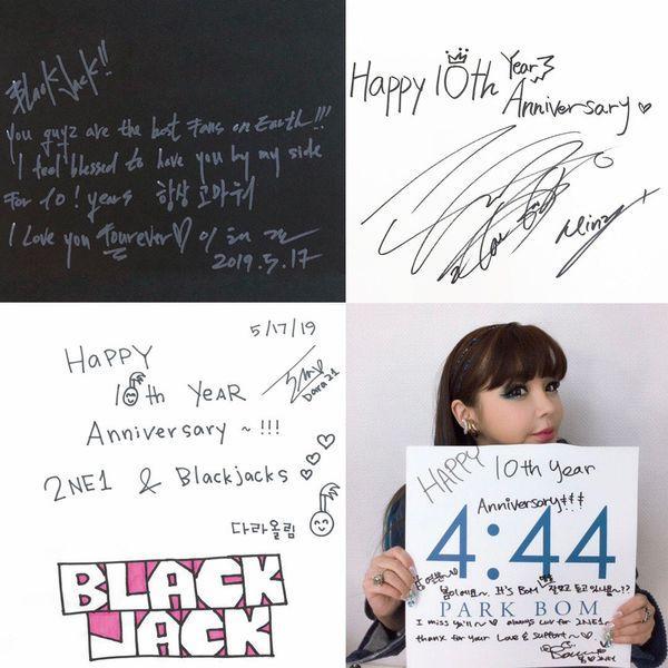 #10yearswith2NE1: 4 thành viên 2NE1 viết thư tay gửi lời cảm ơn người hâm mộ nhân dịp 10 năm ra mắt-2