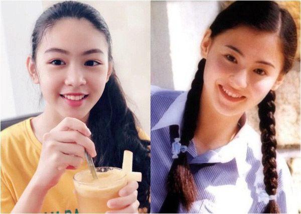 Con gái nhà Quyền Linh: Cô chị được khen giống Trương Bá Chi, cô em lại là bản sao hoàn hảo của mẹ-2