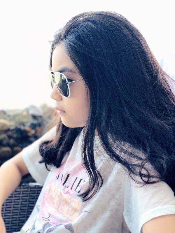 Con gái nhà Quyền Linh: Cô chị được khen giống Trương Bá Chi, cô em lại là bản sao hoàn hảo của mẹ-6