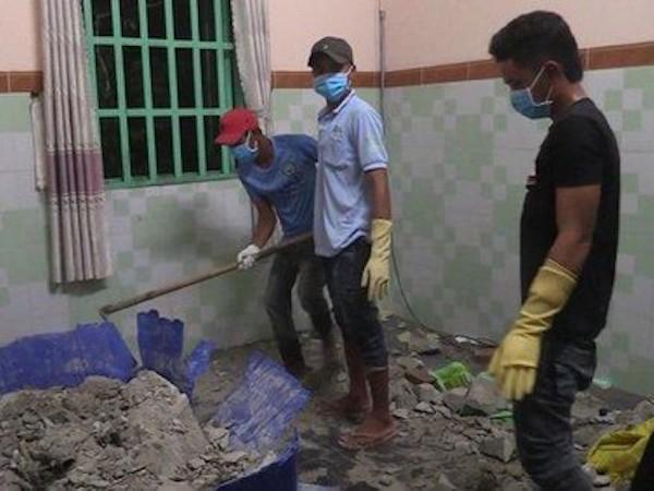 Vụ 2 xác người bị đổ bê tông ở Bình Dương: Cô gái tên Thanh là người thuê nhà cuối cùng-1