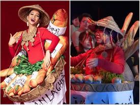 HÚ HỒN: Mặc quốc phục Bánh Mì y chang H'Hen Niê, Việt Hương cứ như đang thi Hoa hậu Hoàn vũ Thế giới