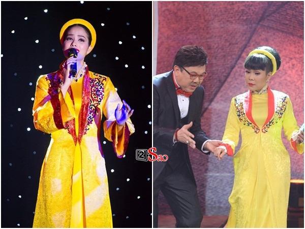 HÚ HỒN: Mặc quốc phục Bánh Mì y chang HHen Niê, Việt Hương cứ như đang thi Hoa hậu Hoàn vũ Thế giới-10