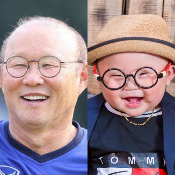 'Bản sao nhí' 10 tháng tuổi của HLV Park Hang Seo gây sốt MXH, hội chị em thi nhau khen lấy khen để-3