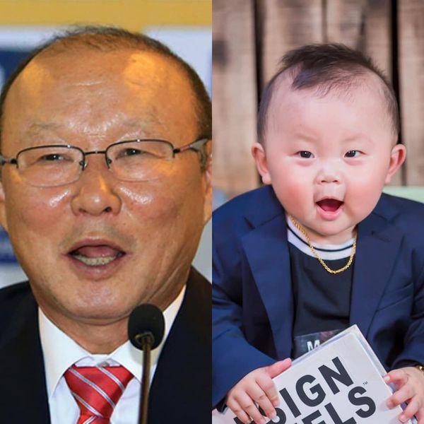 'Bản sao nhí' 10 tháng tuổi của HLV Park Hang Seo gây sốt MXH, hội chị em thi nhau khen lấy khen để-4