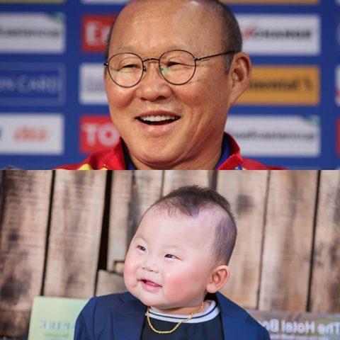 'Bản sao nhí' 10 tháng tuổi của HLV Park Hang Seo gây sốt MXH, hội chị em thi nhau khen lấy khen để-6