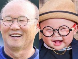 'Bản sao nhí' 10 tháng tuổi của HLV Park Hang Seo gây sốt MXH, hội chị em thi nhau khen lấy khen để