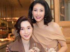Gửi lời tri ân Đặng Thu Thảo, hoa hậu Hà Kiều Anh mong sẽ có nhiều ngày vui bên nhau