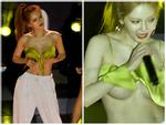 Ăn mặc thiếu vải lại 'quẩy' quá sung, 'nữ hoàng sexy' HyunA lộ vùng nhạy cảm ngay trong lúc biểu diễn