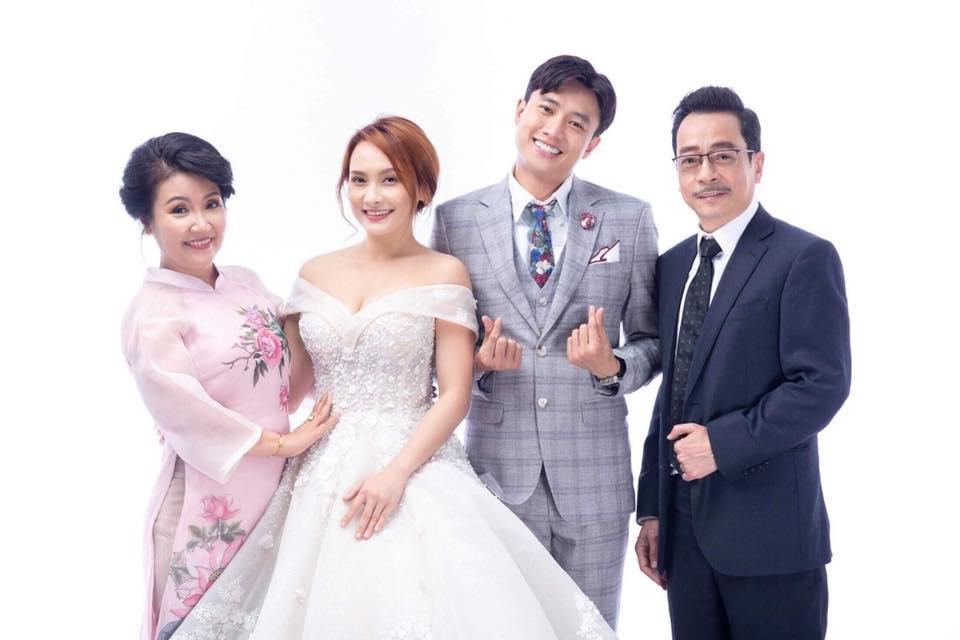 Hé lộ ảnh cưới của Bảo Thanh và Quốc Trường trong Về Nhà Đi Con-1