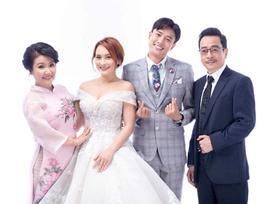 Hé lộ ảnh cưới của Bảo Thanh và Quốc Trường trong 'Về Nhà Đi Con'