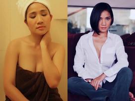 Những hình ảnh gợi cảm bất ngờ của cựu MC 'Bạn muốn hẹn hò' Cát Tường