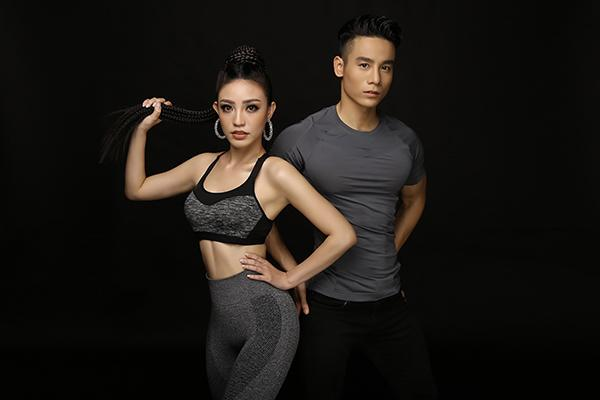 Hé lộ ảnh thể thao tuyệt đẹp của Lý San Nghi - Cao Xuân Tài-1